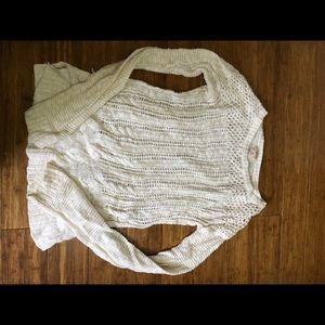 Light cream sweater